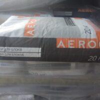 Сухие строительные смеси (клей для стеновых материалов газобетона (газоблока)